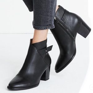 {Madewell} The Kelsi Heeled Boots Size 10
